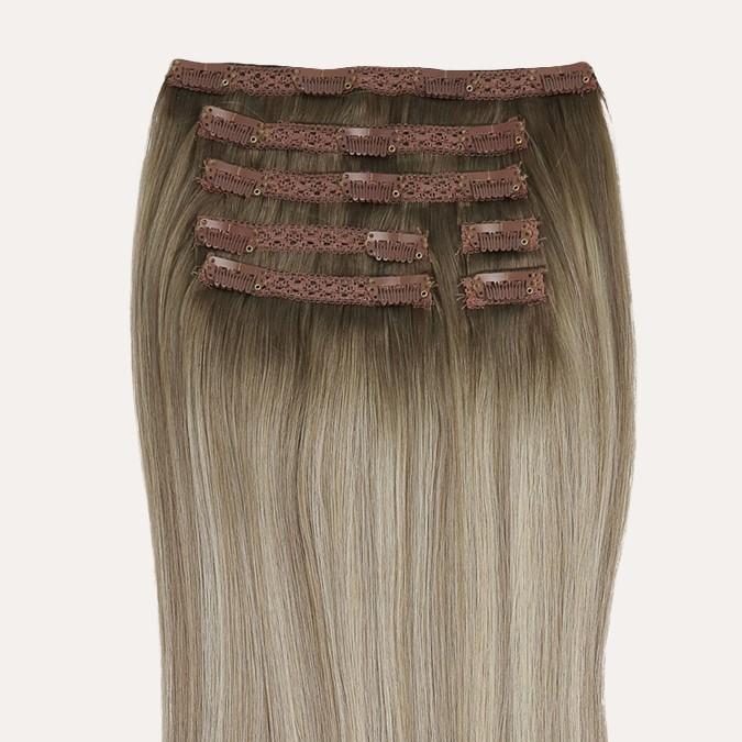 40cm/120g: 7 banen voor dun/ fijn haar