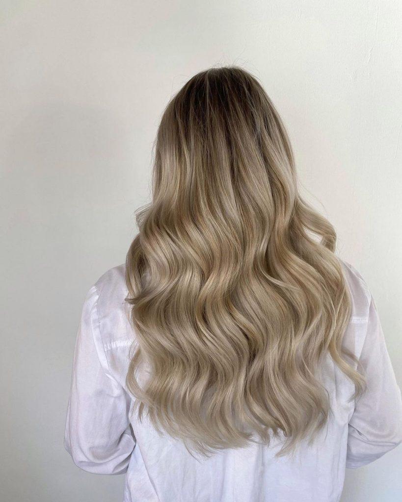 Melted Blonde 40cm/120